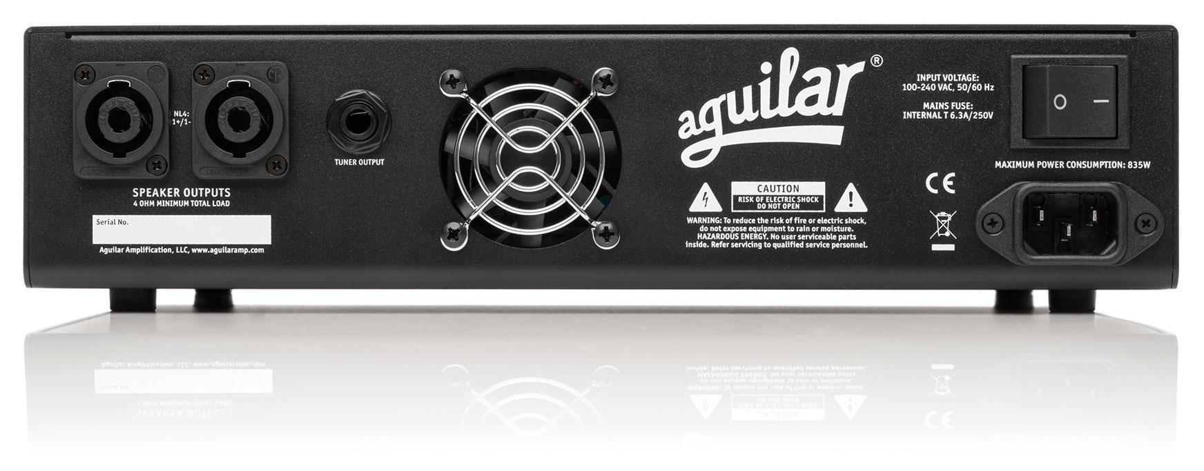 Ag 700 Aguilar Amplification 100 Amp Fuse Box Diagram Youtube The Also Features A Series Effects Loop Xlr Balanced Output And Two Rear Panel Speakon Outputs