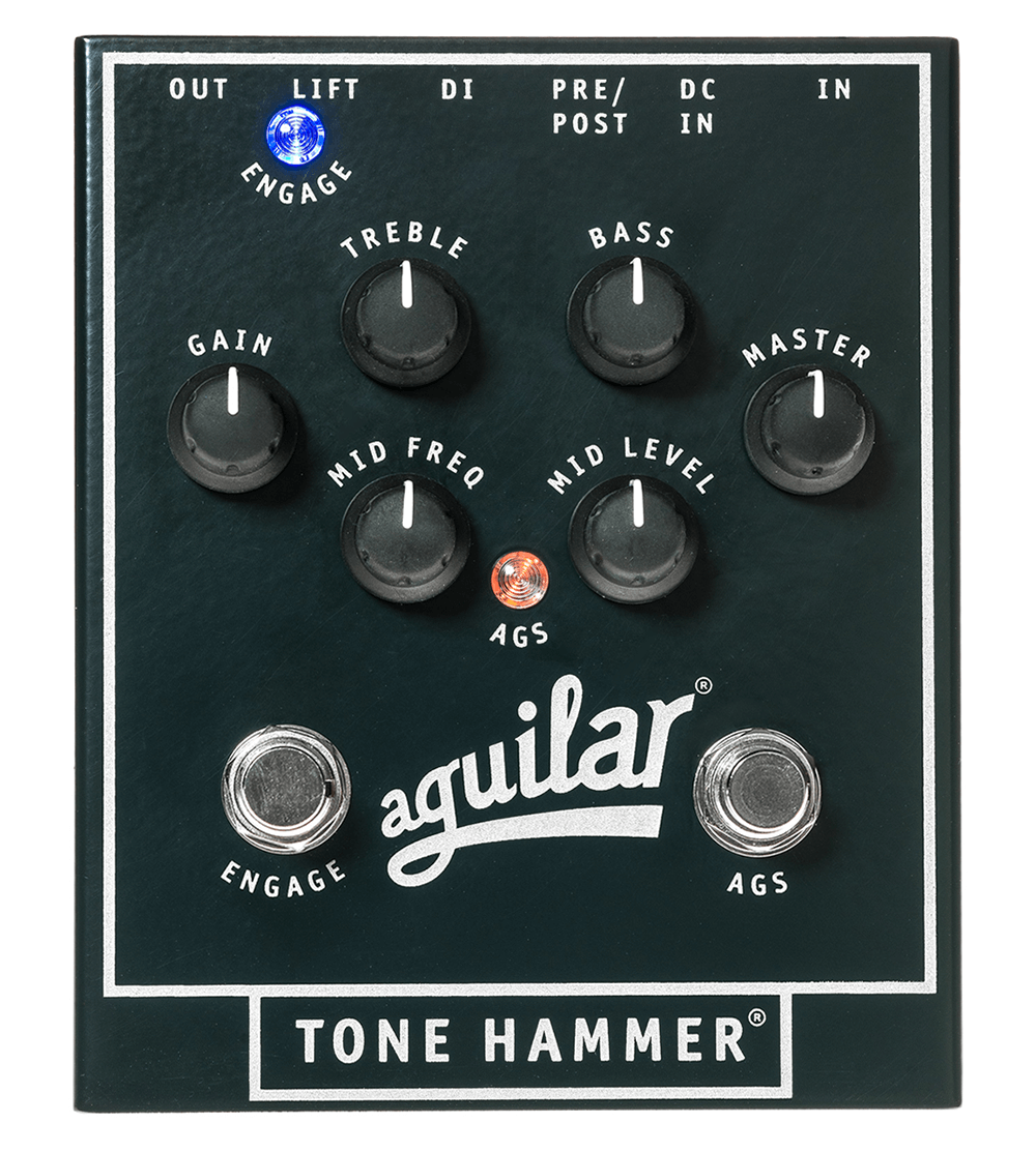 Tone Hammer Aguilar Amplification Preamp Wiring Diagram This Direct Box Is So Strong And Powerful It Could Only Be Called The Based On Respected Obp 3 Features